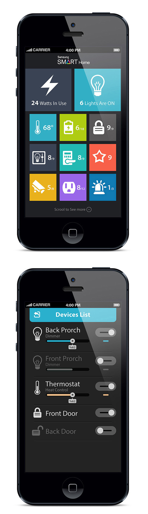 Flat Mobile UI Design and UX-50