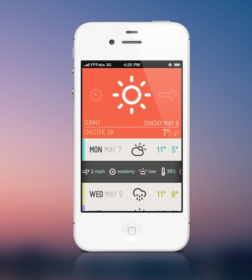 Flat Mobile UI Design and UX-8