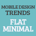 Post thumbnail of Mobile Design Trends 2013 Flat And Minimal