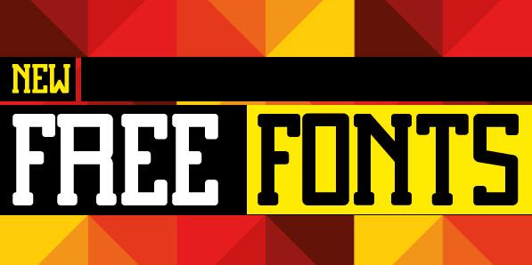 19 New Free Fonts For Desigenrs