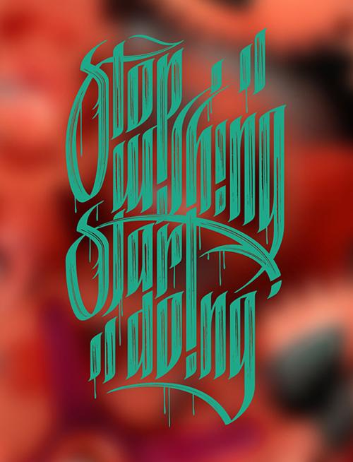Beautiful Typography Design-22