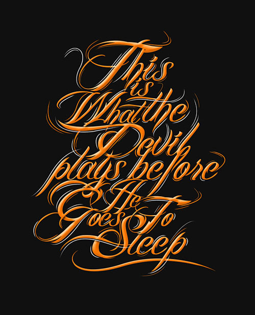 Beautiful Typography Design-33