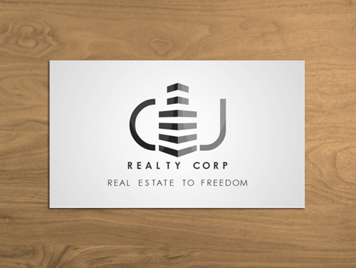 Black and White Business Cards Design