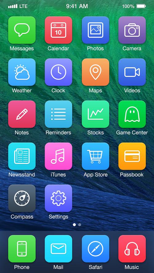 iOS7 Redesign