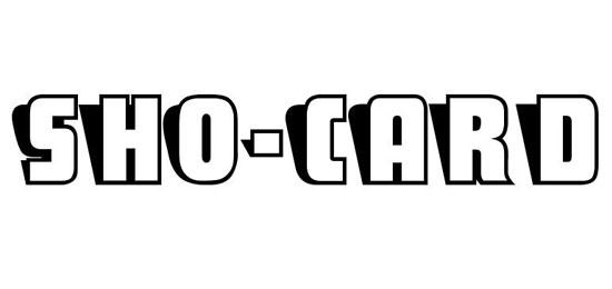 SHO-CARD Fonts