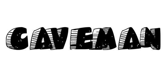 Caveman Fonts