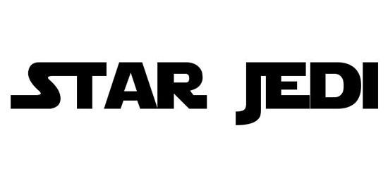 Star Jedi Fonts