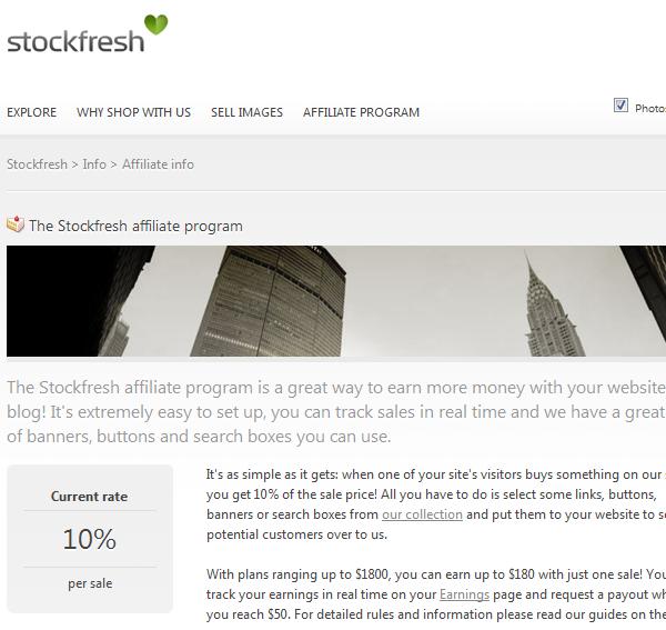 StockFresh Affiliate Program