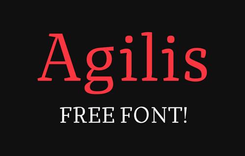 Agilis Free Font