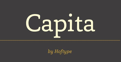 Capita Free Font