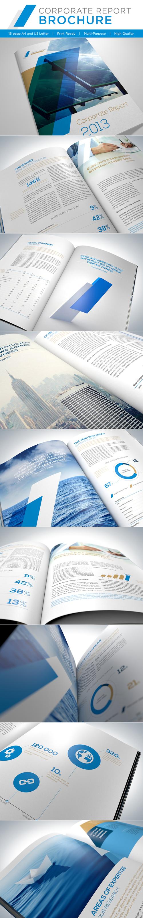 Corporate Report Brochure Design