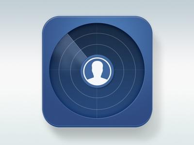 Facebook Radar Icon