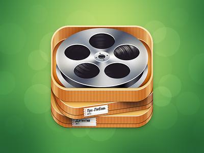 Filmoteka app icon