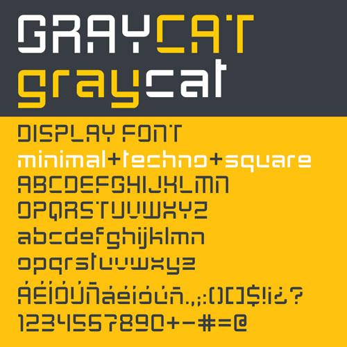 Graycat Font
