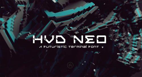HVD NEO Free Font