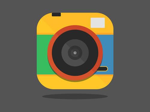 Lomo Camera iOS 7 Flat Icon