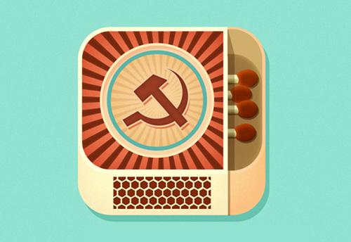 Matchbox ios flat app icon