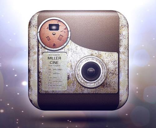Movie Camera iOS Icon