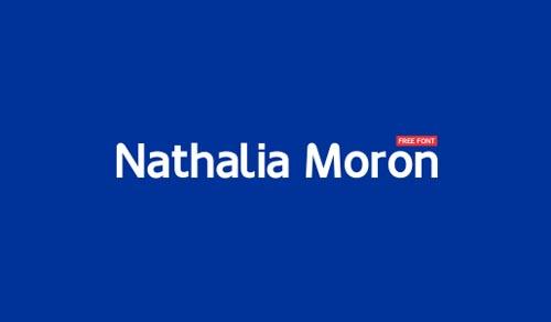 Nathalia Moron Free Font