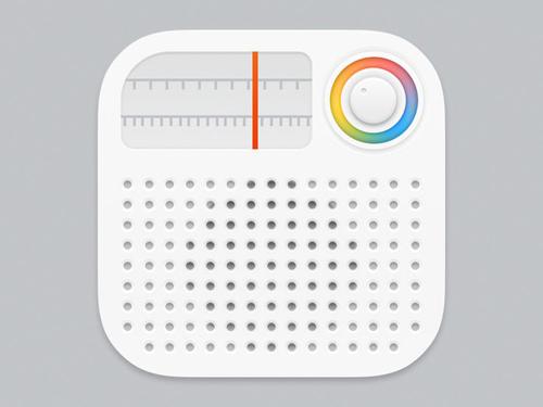 Radio iPhone App Icon
