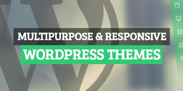 New Premium Responsive WordPress Themes