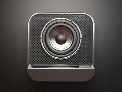Speaker iOS App Icons