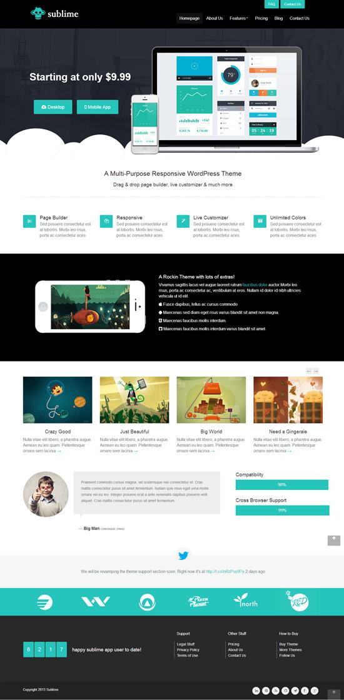Sublime - Responsive WordPress Theme