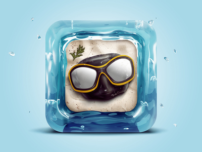 Water Goggles iOS App Icons