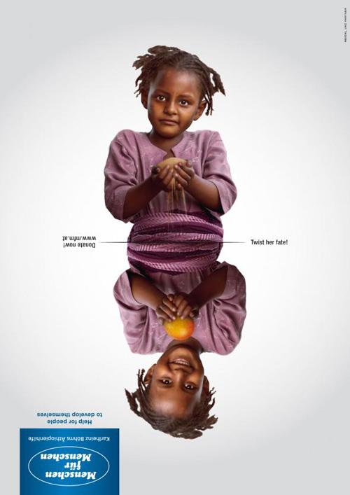 Menschen für Menschen: Twisted Fate Advertising Poster-12