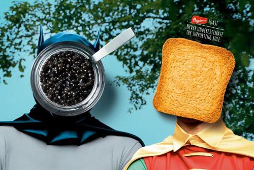 Bauducco Toast: Heroes Advertising Poster-19