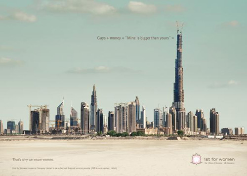 1st for Women Insurance Brokers: Dubai Advertising Poster-2
