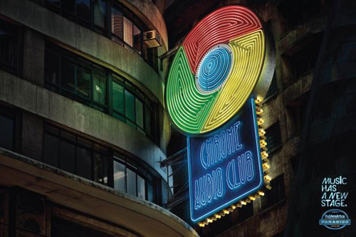 Rádio Sulamérica Paradiso: Google Chrome Advertising Poster-5