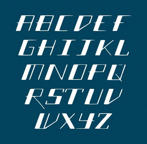 SlantGeo free fonts