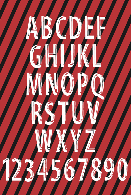 Serious Man free fonts