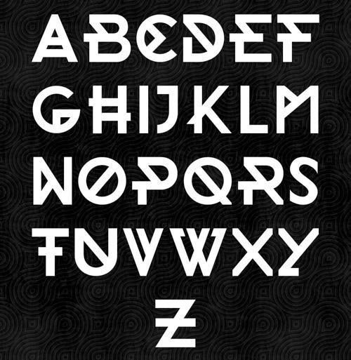 Morden free fonts