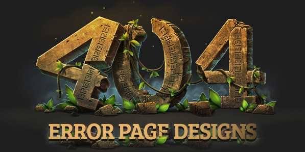 404 Page Designs – 30 Inspiring Examples