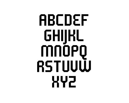 5 metrik Free Font Typography / Lettering