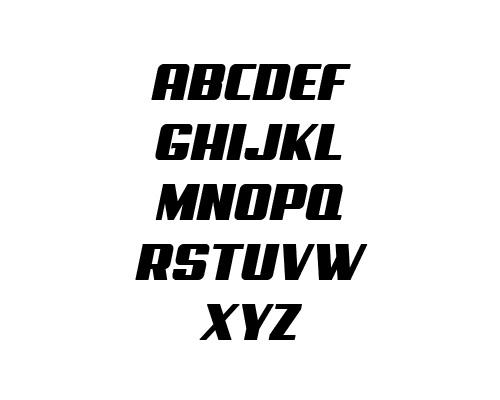 Aero Free Font Typography / Lettering