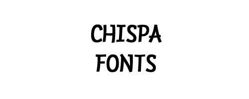 Chispa Free Font