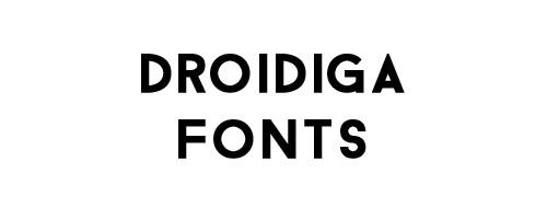 Droidiga Free Font