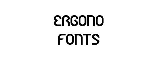 Ergono Free Font