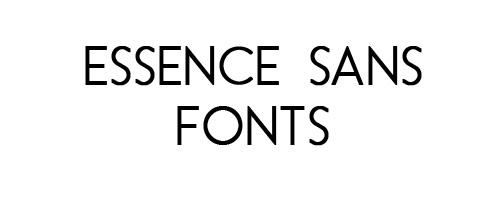 Essence Sans Free Font