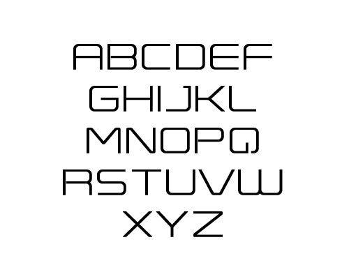 Expansiva Free Font Typography / Lettering