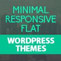Post thumbnail of Minimal, Flat and Responsive Design WordPress Themes