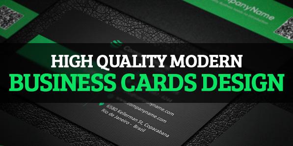 26 High Quality Modern Business Cards Design