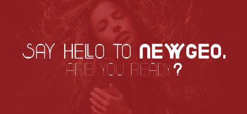 Newgeo free font