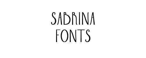 Sabrina Free Font