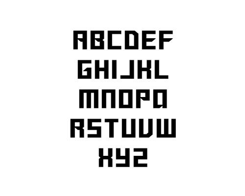 Sanidana Free Font Typography / Lettering