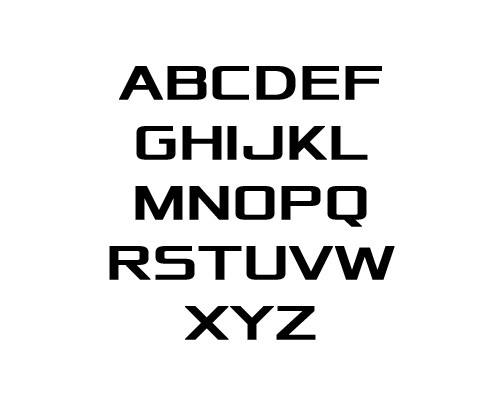 Xolonium Free Font Typography / Lettering