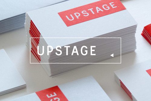 Upstage identity Logo Design